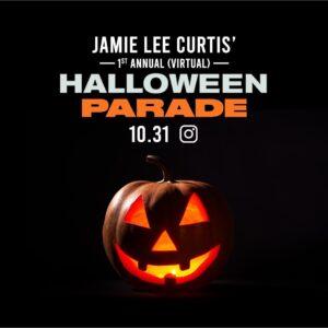 Virtual Halloween Parade Flyer