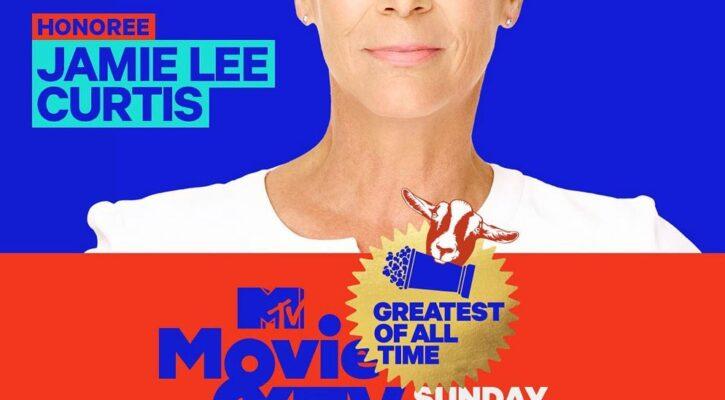 "Jamie Lee Curtis Wins ""Scream Queen GOAT"" at MTV Awards"